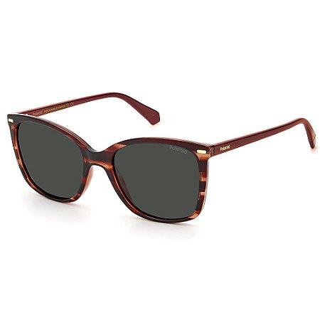 Óculos de Sol Polaroid PLD 4108/S 0UC / 55 Eco - Polarizado