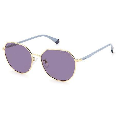 Óculos de Sol Polaroid PLD 4106/G/S  / 59 Lilás - Polarizado