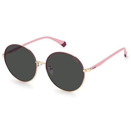 Óculos de Sol Polaroid PLD 4105/G/S / 60 - Pink - Polarizado