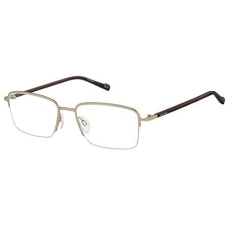 Armação para Óculos Pierre Cardin PC 6860 CGS / 55 - Dourado