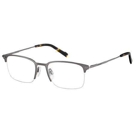 Armação para Óculos Pierre Cardin P.C. 6858 R80 / 53 - Cinza