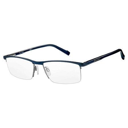 Armação para Óculos Pierre Cardin P.C. 6853 PJP / 55 - Azul
