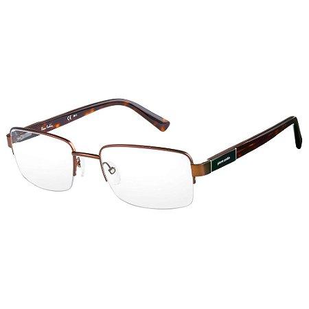 Armação para Óculos Pierre Cardin P.C 6827 SLA / 54 - Marrom