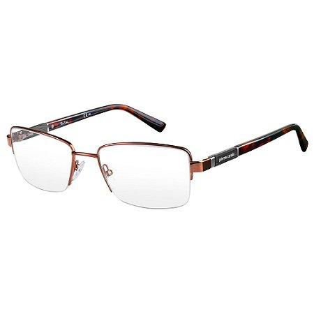 Armação para Óculos Pierre Cardin P.C 6807 DKO / 54 - Marrom