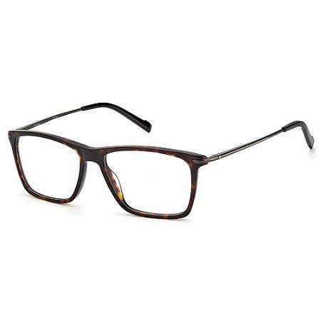 Armação para Óculos Pierre Cardin P.C 6237 086 / 56 - Marrom