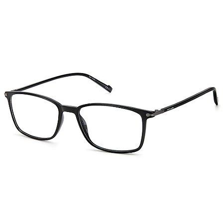Armação para Óculos Pierre Cardin P.C. 6231 807 / 57 - Preto