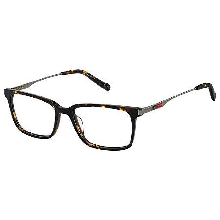 Armação para Óculos Pierre Cardin P.C 6212 086 / 54 - Marrom