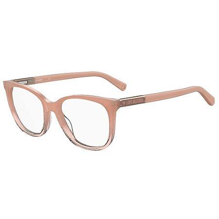 Armação para Óculos Moschino Love MOL564 FWM / 53 - Nude