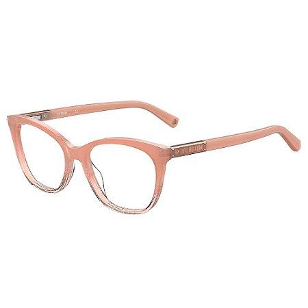 Armação para Óculos Moschino Love MOL563 807 / 52 - Nude