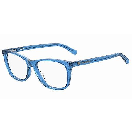 Armação para Óculos Moschino Love MOL557 PJP / 54 - Azul