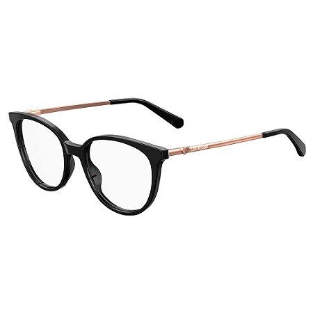 Armação para Óculos Moschino Love MOL549 807 / 51 - Preto