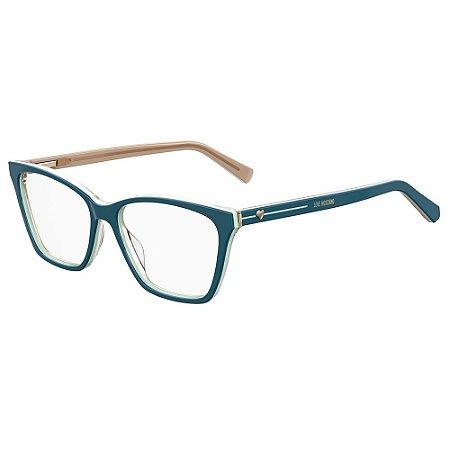 Armação para Óculos Moschino Love MOL547 ZI9 / 53 - Verde