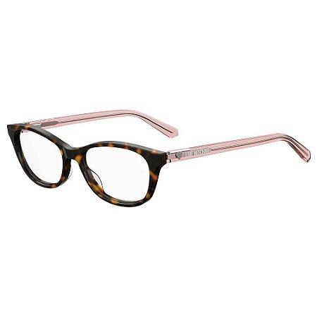 Armação para Óculos Moschino Love MOL544 086 / 52 - Marrom