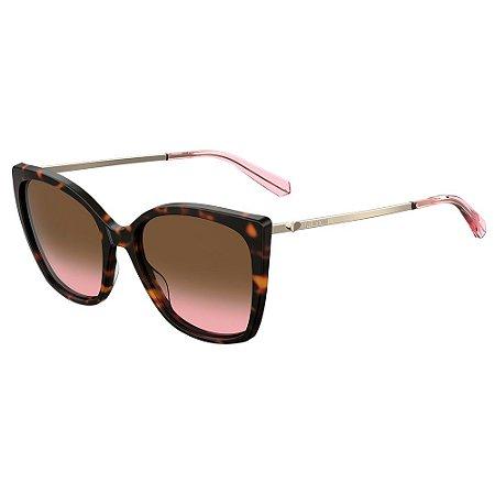 Óculos de Sol Moschino Love MOL018/S 086 55M2 / 55 - Marrom