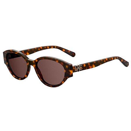 Óculos de Sol Moschino Love MOL014/G/S 086 / 55 - Marrom