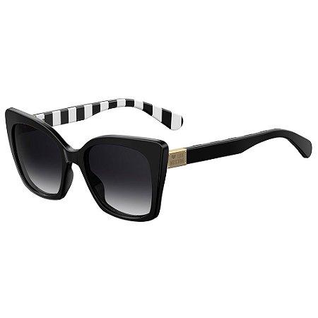 Óculos de Sol Moschino Love MOL000/S 807 539O / 53 - Preto
