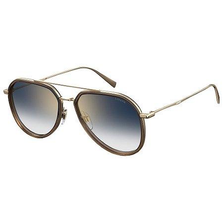 Óculos de Sol Levis LV 5000/S J5G 561V / 56 - Dourado