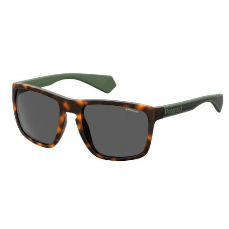 Óculos de Sol Polaroid Pld 2079/S 003 Polarizado - 57 Preto