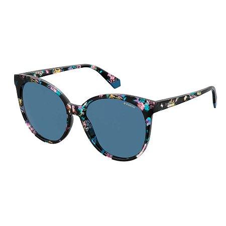 Óculos de Sol Polaroid Pld 4086/S JBW Polarizado - Azul