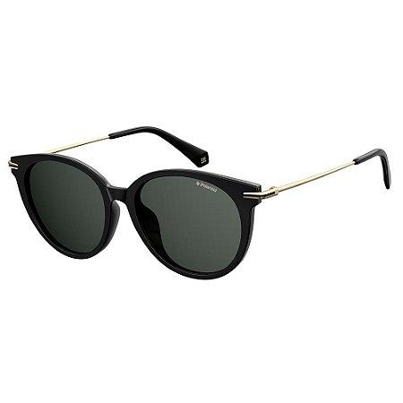 Óculos de Sol Polaroid Pld 4084/F/S 807 Polarizado - Preto