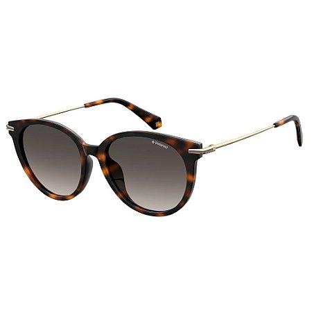 Óculos de Sol Polaroid Pld 4084/F/S 086 Polarizado - Marrom