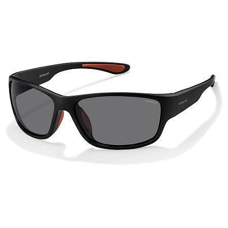 Óculos de Sol Polaroid Pld 3015/S DL5 Polarizado - Preto