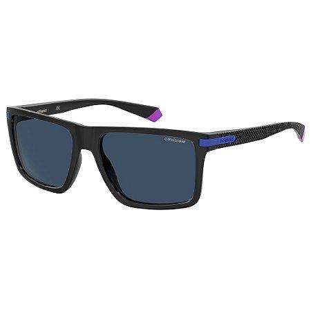 Óculos de Sol Polaroid Pld 2098/S OY4 Polarizado - 56 Preto