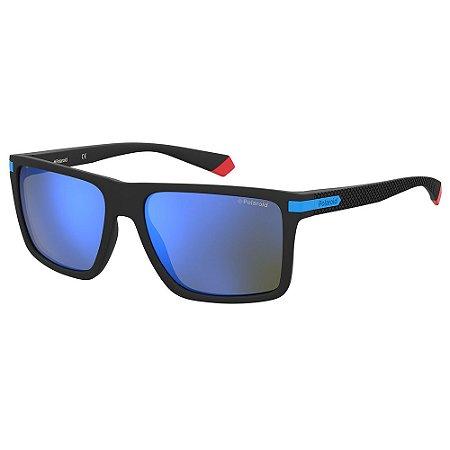 Óculos de Sol Polaroid Pld 2098/S D51 Polarizado - 56 Preto