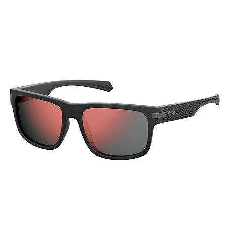 Óculos de Sol Polaroid Pld 2066/S 003 Polarizado - 56 Preto