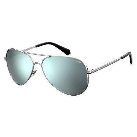 Óculos de Sol Polaroid Pld 6012/N/New 010 Polarizado - Cinza
