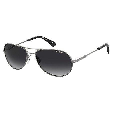 Óculos de Sol Polaroid Pld 2100/S/X R80 56WJ - 56 Cinza