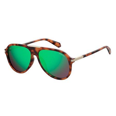 Óculos de Sol Polaroid Pld 2071/G/S/X 086 585Z - 58 Marrom
