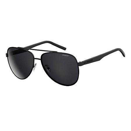 Óculos de Sol Polaroid Pld 2043/S 807 Polarizado - 61 Preto
