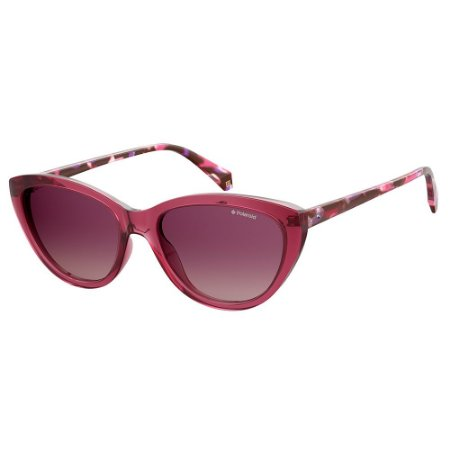 Óculos de Sol Polaroid Pld 4080/S VA4 Polarizado - Vermelho