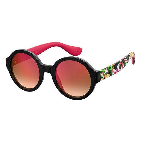 Óculos de Sol Havaianas Floripa/M 7RM 51UZ - 51 Preto