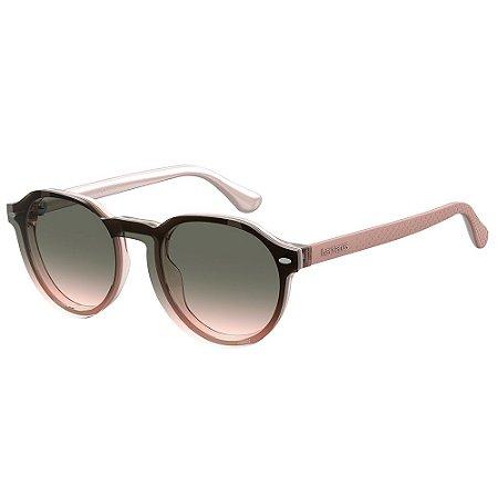 Óculos de Sol Havaianas Arraial/Cs S0F - 49 Rosa - Clip-On