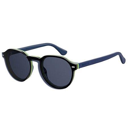 Óculos de Sol Havaianas Arraial/Cs PJP - 49 Azul - Clip-On