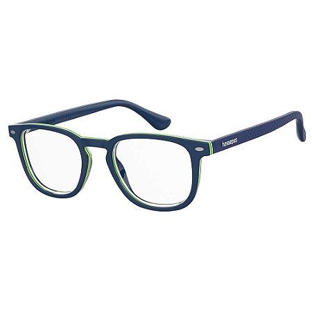 Óculos de Sol Havaianas Botafogo/Cs PJP - 49 Azul - Clip-On