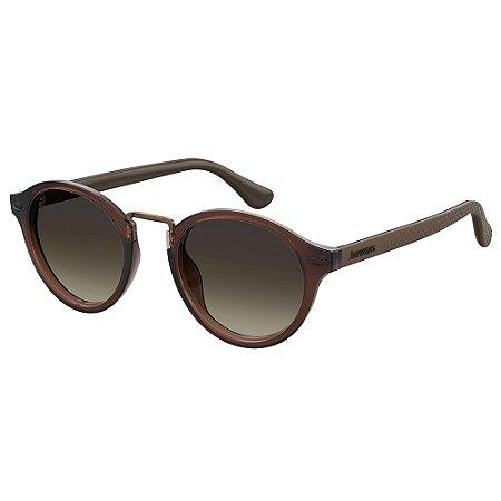 Óculos de Sol Havaianas Itaparica 09Q 49HA - 49 Marrom