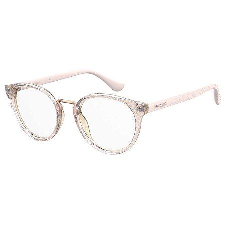 Armação para Óculos Havaianas Prainha/V JBV 4920 - 49 Rosa