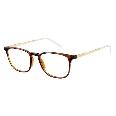 Armação para Óculos Carrera Ca6666 0KS 5019 - 50 Marrom