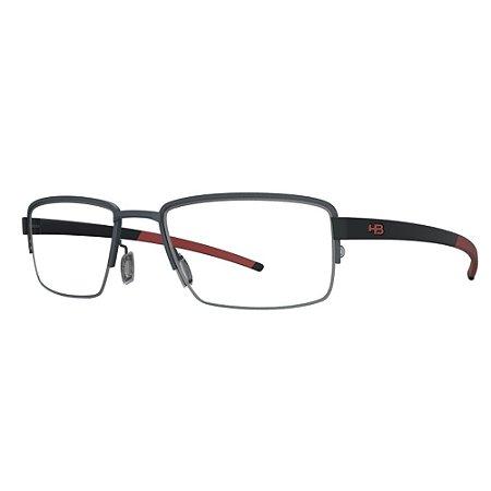 Armação de Óculos HB 93424 Matte Black - Active /55