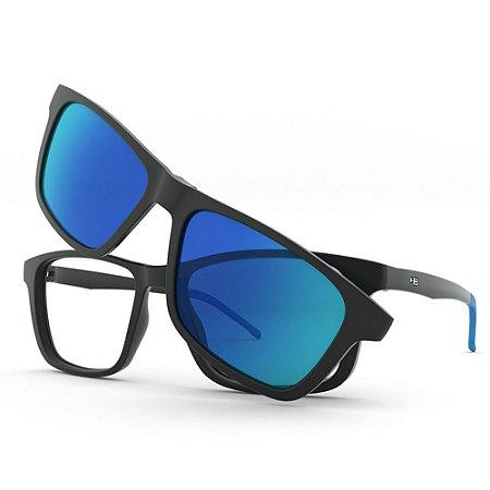 Armação de Óculos HB Switch 0351 Montain Blue - Clip-On