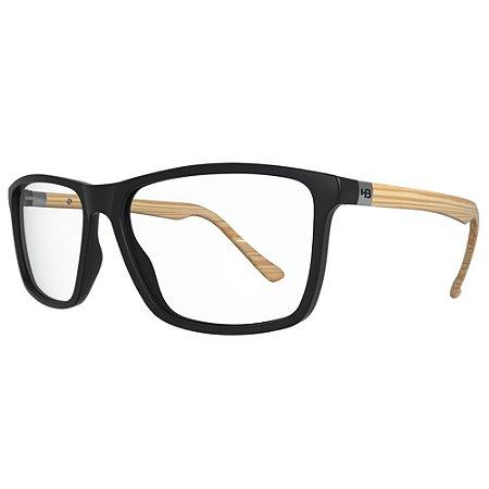 Armação de Óculos HB Polytech 0367 - Matte Wood - Lifestyle