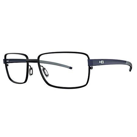 Armação de Óculos HB 0369 Matte Black - Lifestyle /58