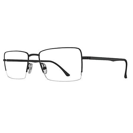 Armação de Óculos HB 0393 Matte Black - Lifestyle /55