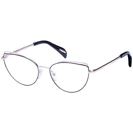 Óculos de Grau Victor Hugo VH1283 0301/54 Preto