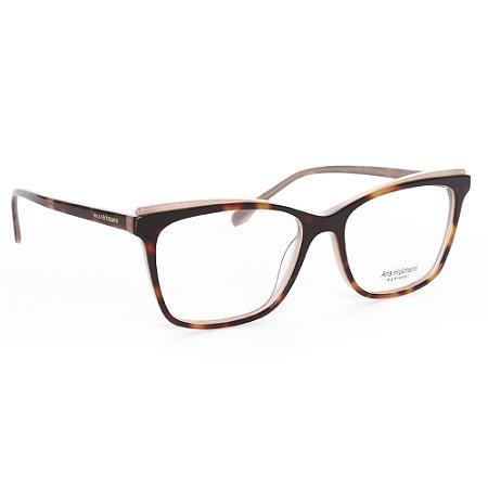 Óculos de Grau Ana Hickmann AH6385H01/54 - Marrom