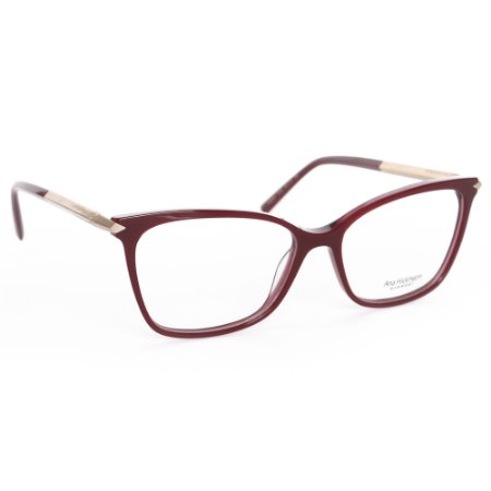 Óculos de Grau Ana Hickmann AH6344T01S/54 - Vermelho