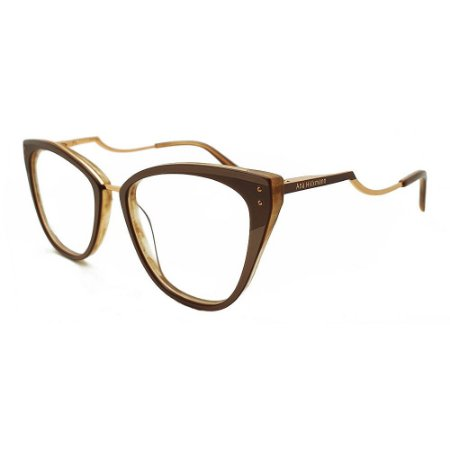 Óculos de Grau Ana Hickmann AH6401 H01/67 - Nude